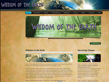 New Wisdom of the Earth Site