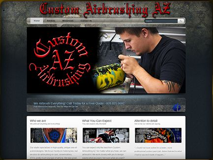 Custom Airbrushing AZ